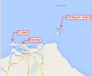 Olotayan map