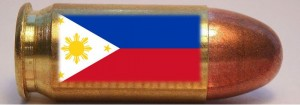 Bullet with Philippine Flag